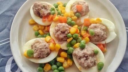 鸡蛋与肉的完美搭配, 这样的做法你肯定没吃过, 让你吃一次忘不掉