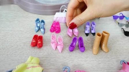 拆装芭比娃娃时装购物中心创意益智玩具