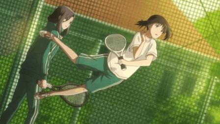 七月新番《轻羽飞扬》网球帅哥? 真正的大佬在看着你!