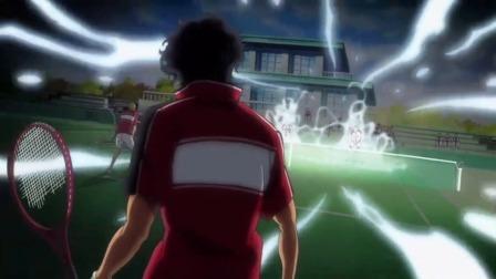 新网球王子:不愧是高中选拔队,打比赛时连乌云都能吸引过来