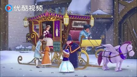 """苏菲亚:""""过年""""就该一家人在一起,大家决定乘雪橇去找国王!"""