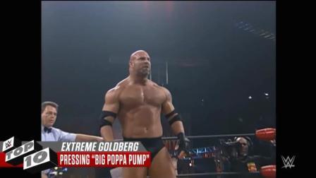 盘点WWE战神高柏精彩视频 十大愤怒的瞬间