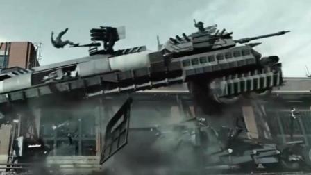 超顶级战争动作巨制, 把坦克大炮, 重武器全放一辆车上, 真猛