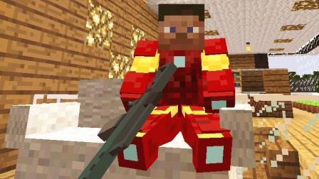 大海解说 我的世界Minecraft 丧尸围城生存激战雇佣军