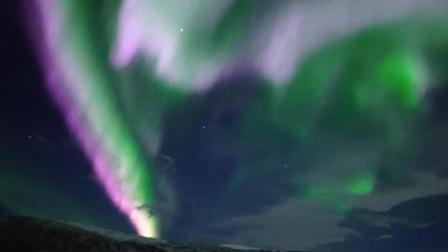 穿越欧亚大陆第十三集: 在北极圈内遇见百年难得一见的粉色极光