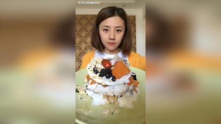 自制蛋糕青汁燕窝蜂蜜枣加核桃阿胶糕