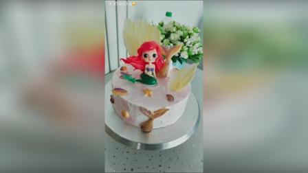 美拍视频: #美食##蛋糕#美人鱼蛋糕