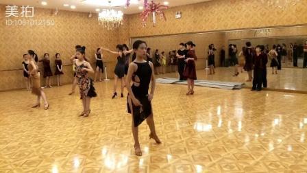 舞蹈#拉丁舞#伦巴模拟比赛, 喜欢谁呢?