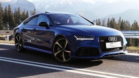 有钱一定要买辆奥迪RS7, 这个车就是所有人的梦想啊!