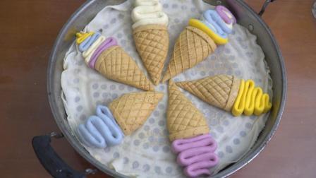 一看就清爽的美食, 冰淇淋馒头, 教你让孩子大开胃口的面食