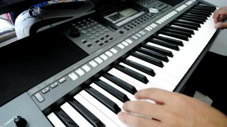电子琴演奏-祁隆《老父亲》