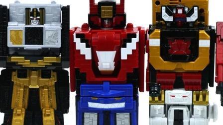 百兽战队数字机械盒子拼装变形机器人玩具