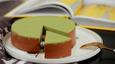 美味的巧克力抹茶慕斯蛋糕, 给你的舌尖带来极致感受!