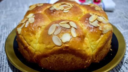 2分钟教你自制懒人面包, 不用揉面, 筷子搅一搅, 松软拉丝超简单