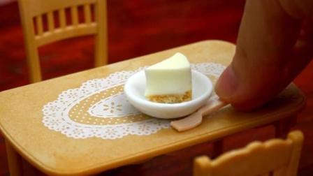 日本迷你厨房制作的迷你小蛋糕, 来看看你一口能吃几个