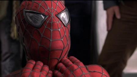 官方说蜘蛛侠臂力有15-20吨, 这个镜头我看不止