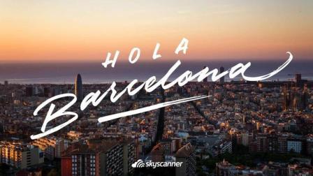 跟漂亮妹子一起游览西班牙第二大城市: 巴塞罗那