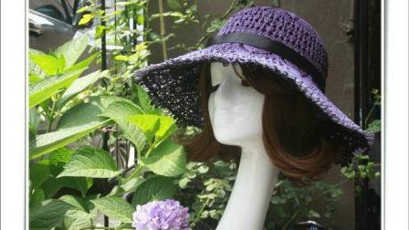 朵朵手作蕾丝礼帽帽体编织