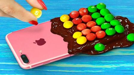 食物恶作剧, 创意DIY可食用电子产品外壳, 时尚又美味敢不敢吃!