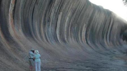 """全球最 """"怪"""" 海浪: 25亿年屹立不倒"""