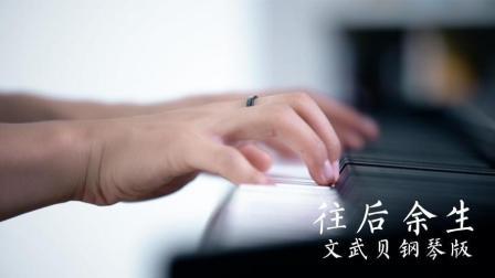 往后余生-唯美钢琴版  文武贝演奏