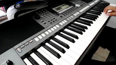 电子琴演奏-拥军花鼓