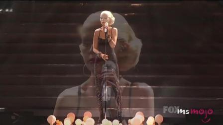 外国网站评选CA妈Christina Aguilera十佳现场(一)。