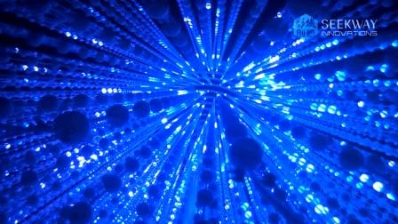 彩域球泡状立体灯光装置