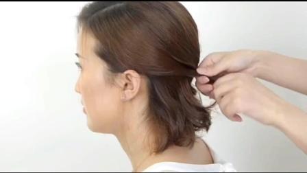 短发如何做轻复古发型