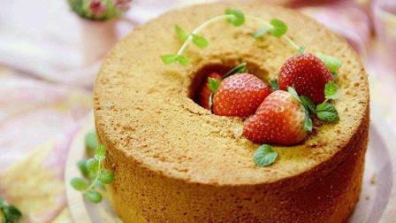 教你做戚风蛋糕不塌陷不断裂的烘焙法, 这样做成功率更高!