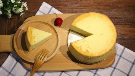 醇香绵软清蛋糕, 没想到做起来这么简单!