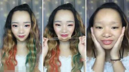 紫桐传媒 第一季 女生抖音玩卸妆直播外国网友吃惊