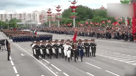 2018白俄罗斯国庆阅兵  中国人民解放军仪仗队受邀参加