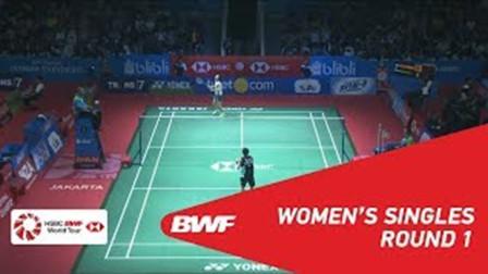 2018.07.04 戴资颖 vs 川上纱惠奈 - 2018印尼羽毛球公开赛