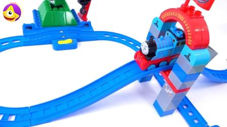 托马斯小火车游乐园玩具, 和托马斯小火车一起去游乐园坐过山车吧