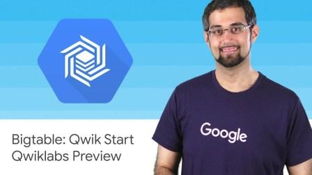 Bigtable: Qwik Start - Qwiklabs Preview