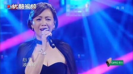 跨界歌王:邓萃雯粤语歌《铁血丹心》,勾起太多回忆,听到流泪
