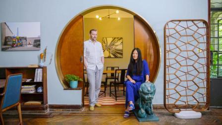 上海最贵地段, 小夫妻花9000块租了一层楼, 还带400㎡院子, 美得让人羡慕!
