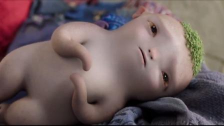 《捉妖记2》最催泪的一幕,胡巴跟爸爸妈妈重逢,哭了笑,笑了哭