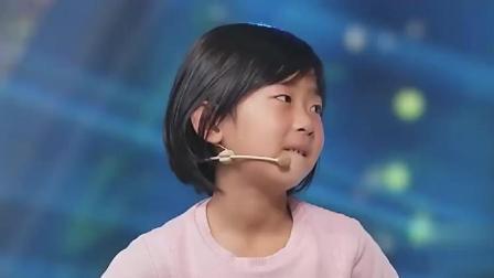 六岁小姑娘神情好像28岁, 还对孟非放电