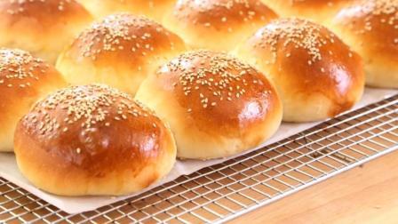 家庭手工汉堡小面包做法秘诀, 这一点最关键, 可惜很多人都不知道