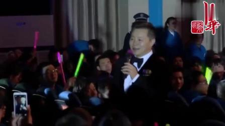 著名男高音歌唱家王宏伟一首《草原上升起不落的太阳》, 征服全场