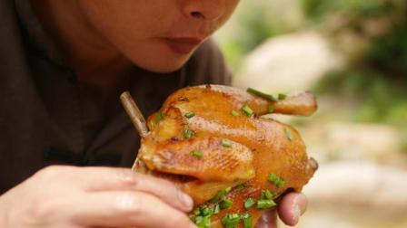 这才是脆皮鸡的真正做法, 简简单单, 一人直接吃一只, 馋哭了