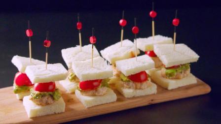 10分钟快手迷你三明治, 胡渣大叔萌透你的心