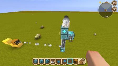 迷你世界: 一秒千发毁图神器制作教程! 一秒钟发射1000发火箭弹