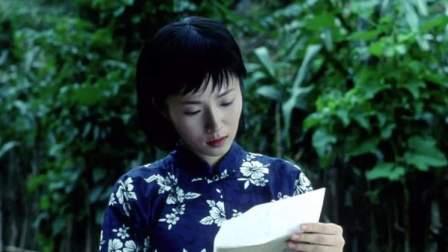 孕妇挺着大肚子艰难地走下台阶,只为看那封写了仅有两行字的家信
