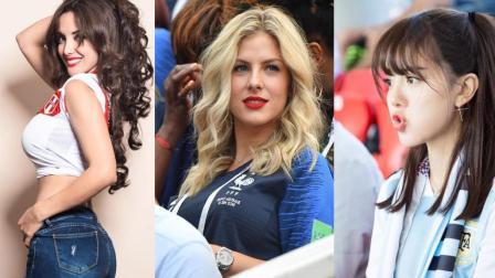 """世界杯美女上头条的五种方式 清纯当道 """"胸夹手机""""已过时"""