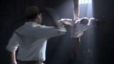 为让教授合作,日本女特务上演苦肉计,自愿受鞭刑