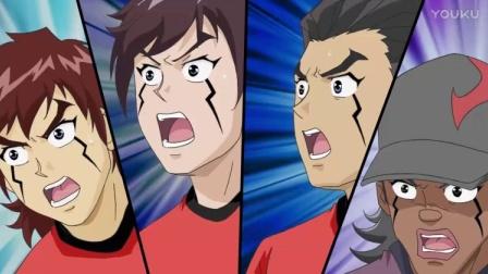 超智能足球:修罗门队的球员和赤足队样子一模一样,怎么回事!