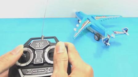 飞机和汽车玩具试玩, 婴幼儿宝宝游戏视频369